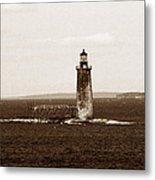 Ram Island Ledge Lighthouse Metal Print