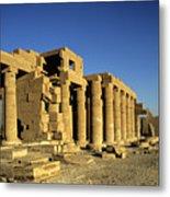 Ramesseum Temple, Luxor, Egypt Metal Print