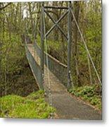 Ramsey Swing Bridge 2 Metal Print