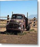 Ranch Truck Metal Print