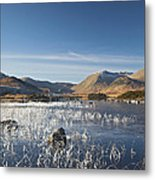 Rannoch Moor - Winter Metal Print
