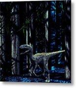 Raptor Dinosaur Metal Print