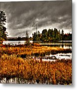 Raquette Lake In The Adirondacks Metal Print
