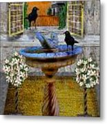 Ravens Wood Fantasy Metal Print
