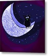 Reach For The Moon Metal Print