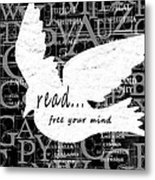 Read Free Your Mind Metal Print