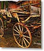 Ready For A Sunday Drive - Featured In Tennessee Treasures Group And Spectacular Artworks Group Metal Print