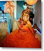 Ready For The Ball Metal Print by Dorothy StClaire