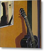 Ready To Play Guitar Metal Print