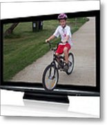 Reality Television Metal Print by Joanne Kocwin