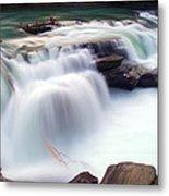 Rearguard Falls Metal Print by Terry Elniski