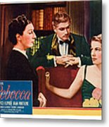 Rebecca, From Left Judith Anderson Metal Print