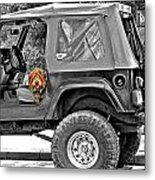 Rebel With A Cause Metal Print