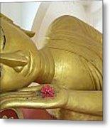Reclining Buddha Metal Print