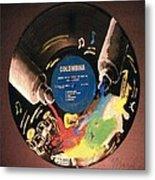 Record Metal Print