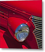 Red 1938 Chevy Coupe Metal Print