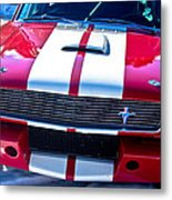 Red 1966 Mustang Shelby Metal Print