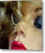 Red And Blue Metal Print by David Taylor