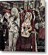 Red And Her Crew  Metal Print