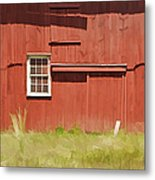 Red Barn Of New Jersey Metal Print