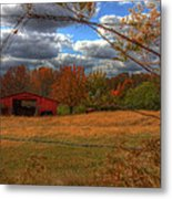 Red Barn1 Metal Print