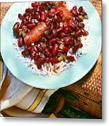 Red Beans And Rice Metal Print