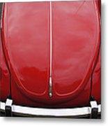 Red Bug Metal Print