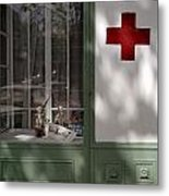 Red Cross. Belgrade. Serbia Metal Print