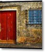 Red Doors Metal Print by Mauro Celotti