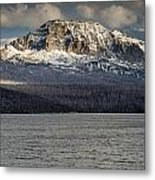 Red Eagle Mountain Evening Metal Print