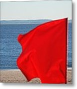 Red Flag Metal Print
