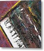 Red Piano Series 7 Metal Print