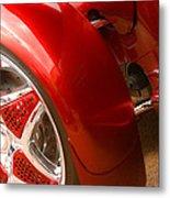 Red Prowler  Metal Print by Toni Hopper