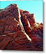 Red Rock Canyon 5 Metal Print by Randall Weidner