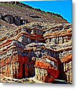 Red Rock Canyon California Metal Print