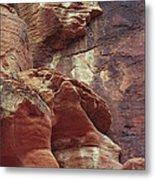Red Rock Canyon Petroglyphs Metal Print