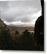 Red Rock Canyon View Metal Print