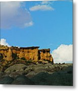 Red Rock In New Mexico Metal Print