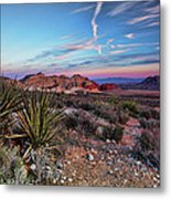 Red Rock Sunset Metal Print