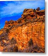 Red Rocks Park Colorado IIi Metal Print