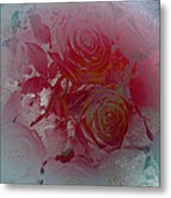 Red Roses Rose Rosse Metal Print