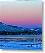 Red Sky At Dawn Metal Print
