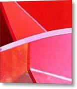 Red Thing Metal Print