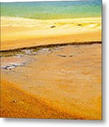 Red To Blue Metal Print