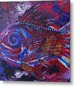 Redribfish Metal Print