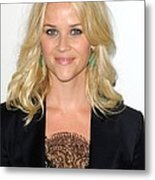Reese Witherspoon At Arrivals For Elles Metal Print by Everett