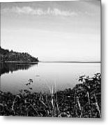 Reflected Perfectly Calm Metal Print