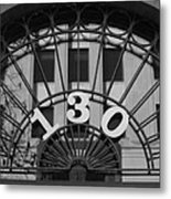 Reflected Symmetry At 130 Metal Print by Artist Orange