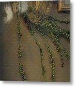 Reflecting On Beads Metal Print