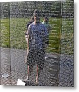 Reflection And Remembrance Metal Print